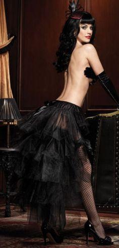Tulle Bustle Skirt. I have been eyeballing this skirt for YEARS - Kristin