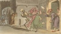 'The Statesman' English Dance of Death, Thomas Rowlandson, 1814 Dance Of Death, Old Paper, Flora And Fauna, Ephemera, Medieval, Vintage World Maps, Rabbit, Victorian, Deviantart