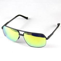 f5fe20f86ee2 Polarized Sunglasses Men Women Sun Glasses Eyewear Spring Temples Yellow  lenses  affilink  polarizedsunglasses