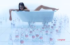 Evian by Guy Seese #water #beverage