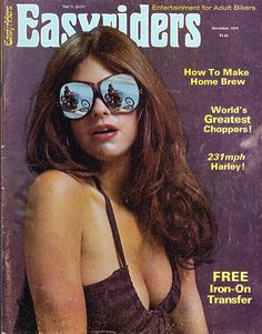 Handmade goods and rad vintage for the fast & farout Bike Magazine, Magazine Rack, 1980s Pop Culture, Scantily Clad, Easy Rider, Club Style, 70s Style, Lady Biker, Home Brewing