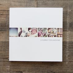 Wrap-around cover style on the instagram -friendly softcover book starting at $10.99  for a 5.5x5.5x book at www.artifactuprising.com