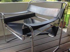 Zwarte design stoel - Bieden
