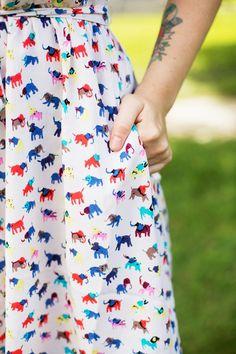 Nawhhhh elephant pattern!