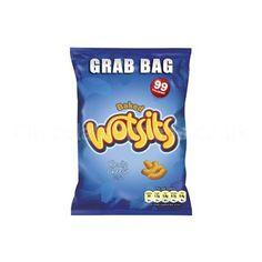 Wotsits Cheese Grab Bag 34 g (The English Shop): mums, vilka ostbågar. Bättre än originalet! Ostsmaken är tydlig med ordentlig sälta och lite kryddig paprika. tyvärr är konsistensen alldeles för efimär, de smälter för fort i munnen och ger ingen upplevelse utöver smak. 3/5