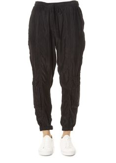 This is the Ray Satin Black Ramble Pant by stunning brand Johnny Was. These comfortable pants have a capri-style fit that works great with both heels and flats. Leggings Style, Leggings Fashion, Leopard Dress, Pink Leopard, Johnny Was Clothing, Harem Pants, Trousers, Pull On Pants, Striped Shorts