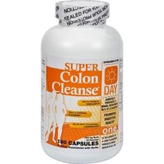 Health Plus Super Colon Cleanse Day Formula - 180 Capsules #HomeMadeColonCleanseDiet