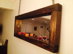 A personal favorite from my Etsy shop https://www.etsy.com/listing/225613131/rustic-reclaimed-wood-chain-mirror