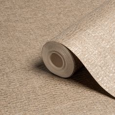 A simple yet effective textured wallpaper in a neutral pallete. Brown Wallpaper, Diy Wallpaper, Textured Wallpaper, Wardrobe Room, Brown Texture, Kitchen Wallpaper, Front Rooms, Ikea Hack, Home Art
