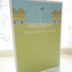 Golf Father's Day Card £2.15