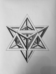 Creative Draw A Monster Ideas. Exacting Draw A Monster Ideas. Impossible Shapes, Impossible Triangle, Isometric Drawing, Sacred Geometry Symbols, Geometric Tattoo Design, Math Art, Illusion Art, 3d Drawings, Mandala Tattoo