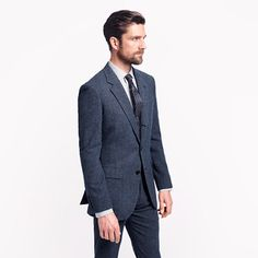 Ludlow fielding suit jacket with double vent in English wool ($450.00) Italian Leather Shoes, J Crew Men, Tailored Suits, Suit Jacket, English, Wool, Denim, Sweaters, Jackets