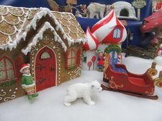 Miniature Winter Garden - Polar World - Miniature Winter Polar Garden Ornaments Snow Girl, Fairy Garden Houses, Wood Stone, Fairy Garden Accessories, Garden Stones, Miniature Fairy Gardens, Garden Ornaments, Winter Garden, Outdoor Gardens