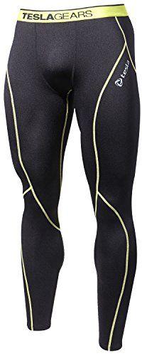 8972ba8899 Awesome TM-P33-BLY_2XL Tesla Men's Thermal Compression Leggings Base Layer  Pant