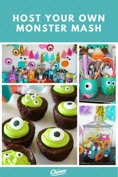 Throw your very own Monster Mash complete with colorful and silly table decorations and take-homes!