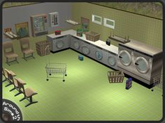 Around the Sims 2 | Objects | Other | Laundrette
