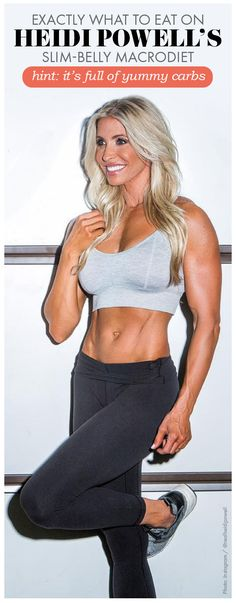 Curious about eating a diet based on macros? Celebrity trainer, Heidi Powell shares her macro meal plan in an exclusive with Womanista! Womanista.com