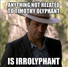 """#TimothyOlyphant as """"Raylan"""" on #Justified. Love me some Tim! by vladtodd"""