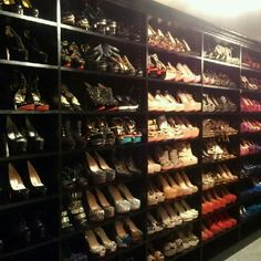 Now that's quite the shoe collection