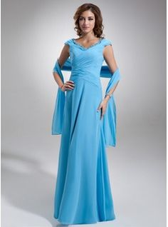 Mother of the Bride Dresses - $151.99 - A-Line/Princess Off-the-Shoulder Floor-Length Chiffon Mother of the Bride Dress With Ruffle Lace  http://www.dressfirst.com/A-Line-Princess-Off-The-Shoulder-Floor-Length-Chiffon-Mother-Of-The-Bride-Dress-With-Ruffle-Lace-008006115-g6115