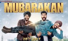 Mubarakan poster: Anil Kapoor is having fun with two Arjun Kapoors and we are already curious. See photo