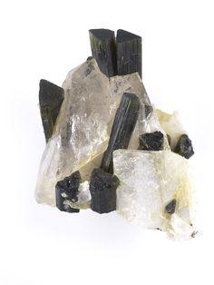 New Tourmaline in Quartz just added. See more here: http://www.exquisitecrystals.com/minerals/tourmaline
