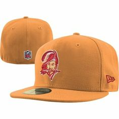 cf3126feb2f New Era Tampa Bay Buccaneers 59FIFTY Classic Sideline Vintage Fitted Hat -  Orange Glaze (Size