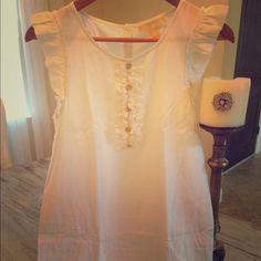 Beautiful silky white Michael Kors Dress. Size S *** Beautiful silky white Michael Kors dress ❤️ 55% silk, 45% cotton. Size S. Like new! Michael Kors Dresses