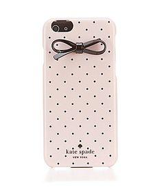 kate spade new york Tiny Black Dot Bow iPhone 6 Hard Case #Dillards