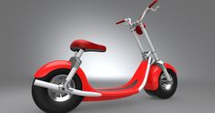 Pure Red electric #scooters #scooterson