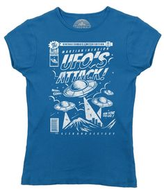 Women's UFO Attack T-Shirt - Juniors Fit