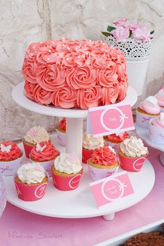 MESA DULCE PINK CANDY BAR DESSERT TABLE PARTY ROSA