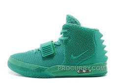 "520c3de73312b Nike Air Yeezy 2 ""Green Lantern"" Glow In The Dark 2014 For Sale Online"
