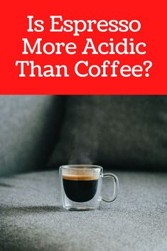 Acidity contributes to a coffee drink's unique flavors. It's one of the factors that determine whether a coffee tastes bland, mellow, or strong. With that said, a drink that doesn't contain even the slightest amount of acidity isn't coffee at all. On average, espresso is less acidic than regular coffee as espresso is usually brewed from dark roast coffee beans. #coffee #espresso Coffee Cream, Coffee Type, Espresso Coffee, Black Coffee, Low Acid Coffee, Fresh Coffee, Coffee Tasting, Coffee Drinks, Kenyan Coffee