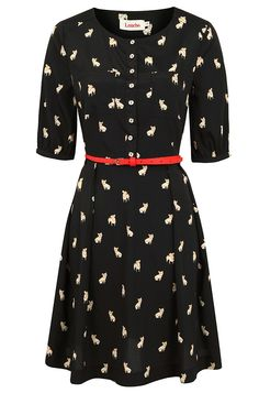 Cute!   Louche Catnna Frenchie Dress
