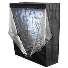 "Grow Tent Reflective Mylar 48"" X 24"" X 60"" Hydroponics Plant Growing Room New"
