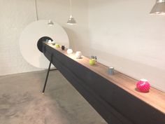 Ceramic conveyor belt @ Tent London
