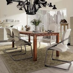 Gemini Solid Recycled Elm Wood Dining Table Hkd 8999  Stockroom Captivating Slim Dining Room Tables Decorating Inspiration