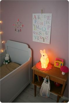Beautiful mix - love the cloud, the rabbit and Miffy + the poster in this pic is available at claradeparis.com