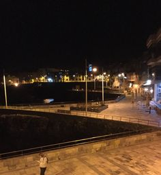 Las Canteras by night, Las Palmas