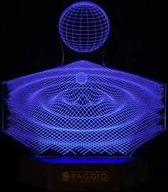 Kropla wody 3D.
