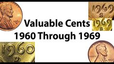 1960 To 1969 Valuable Lincoln Cents Varieties Found In Pocket Change Valuable Pennies, Valuable Coins, Antique Coins, Old Coins, Penny Values, Rare Coins Worth Money, Coin Worth, Vintage Jewelry Crafts, Error Coins