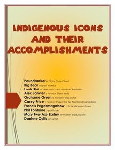 Use these information sheets of 10 important Canadian Indigenous People. Easy to implement research ideas along with rubrics, checklists, and student evaluations sheets. Canadian content written by Canadian Teachers. Canadian Social Studies, Reading Projects, Rubrics, Curriculum, Study, Content, Teaching, Writing, Easy