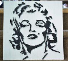 Marilyn monroe string art