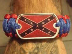 Confederate Paracord Bracelet