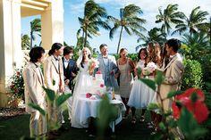 WEDDING PARTY #HAWAII WEDDING