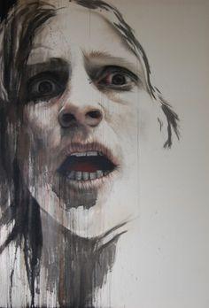 """Saatchi Online Artist Annemarie Busschers; Painting, """"Self-Portrait"""" #art"""