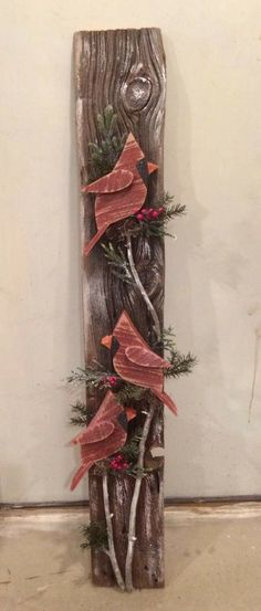 0001 Awesome DIY Wooden Christmas Craft Ideas - Lovelyving - 0016 Awesome DIY Wooden Christmas Craft Ideas You are in the right place about simple crafts Here w - Wooden Christmas Crafts, Noel Christmas, Christmas Signs, Christmas Projects, Holiday Crafts, Christmas Wood Decorations, Winter Wood Crafts, Country Christmas, Pallet Crafts