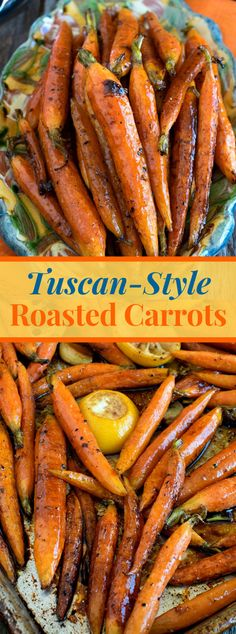 These addictively-great Tuscan-Style Roasted Carrots are the genuine sign of Tuscan cooking – straightforward fixings with awesome flavor! Carrot Recipes, New Recipes, Healthy Recipes, Cheap Recipes, Roast Recipes, Cookbook Recipes, Recipies, Cooking Recipes, Cooked Carrots