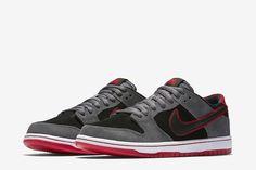 "Nike SB Dunk Low Pro Ishod Wair ""Dark Grey/University Red"""